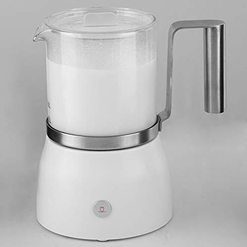 ALK 500W Elektrischer Milchaufschäumer, Antihaftbeschichtung, Abschaltfunktion Automatischer, Mit Funktionen Für Heiße Und Kalte Milch