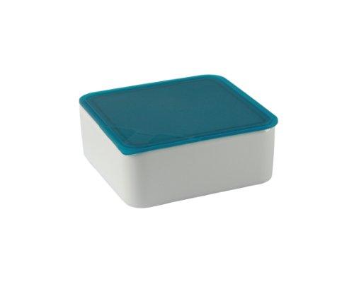 Arzberg Form 3330 Küchenfreunde Frischebox mit Kunsstoffdeckel 15 x 15cm, türkis