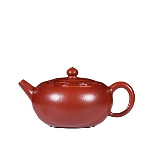 ADSE Handmade Teapot Teapot Kung Fu Tea Lianzhongsanyuan Oriental Purple Tea Maker Sand Pot (Color : Big purple Pouch)