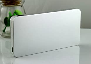 TAVLAR Ultrathin 50000mAh External Power Bank Backup Battery Charger for Cell Phone (Silver)