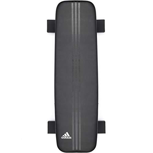 adidas Flat Training Bench, Black, One Size