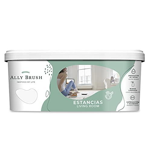 Ally Brush - Pintura interior estancias 3L y 10L (Blanca y colores)