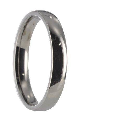 Edelstahl Partner Freundschafts Ring X10004 Gr76