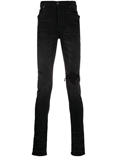 Luxury Fashion   Amiri Heren Y0M01202SDAGEDBLACK Zwart Katoen Jeans   Lente-zomer 20