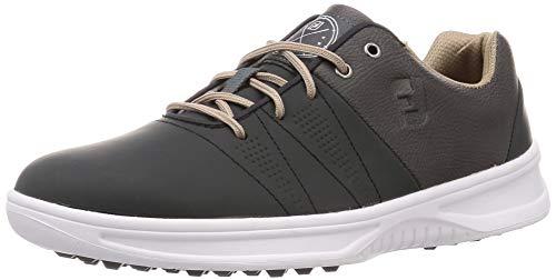 FootJoy mens Contour Casual Golf Shoes, Charcoal, 9.5 US