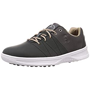 FootJoy Men's Contour Casual Previous Season Style Golf Shoes, Charcoal, 10 M US