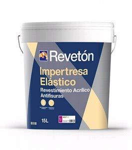 REVETON - IMPERTRESA ELASTICO MATE 15 LT - Blanco 001