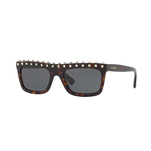 Valentino 0VA4010 500287 51 Gafas de sol, Marrón (Havana/Smoke), Mujer
