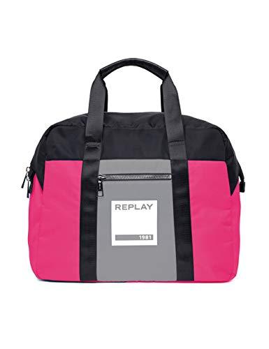 REPLAY Fu3063.001.a0021b - Borse a spalla Unisex Adulto, Multicolore...