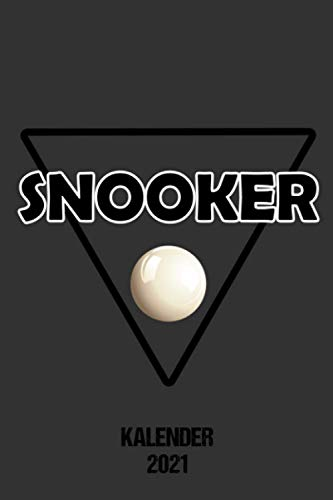 Kalender 2021 Snooker: Terminplaner Snookerfan 2021 A5 Tagesplaner lustiges Geschenk für Snooker Zuschauer Jahreskalender 2021 1 Woche 2 Seiten / 6x9 ... / Terminplaner 2021 klein für Snookerspieler