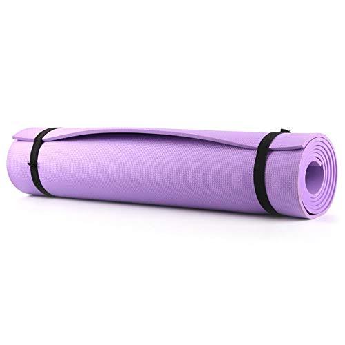 Matefielduk-Sportmatte, Fitness-Yogamatte, High-End-Gymnastikmatte, Eva-Sportmatte, Rutschfester Teppich Pilates-Fitnessmatte + Schwarze Tasche