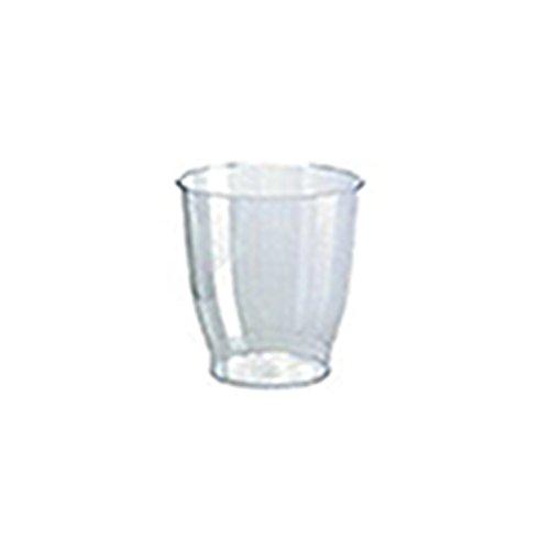 90 x Trinkglas Crystallo - Portionsschälchen aus Kunststoff  200 ml