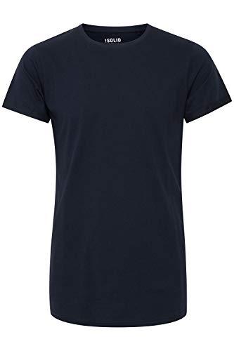 Solid Longo - Camiseta de manga corta para hombre