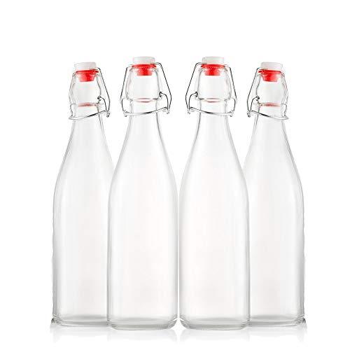 Swing Top Glass Bottles