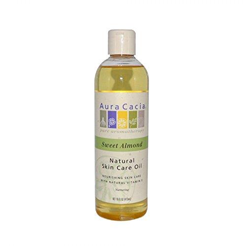 Aura Cacia 0615484 Natural Skin Care Huile d'Amande Douce - 16 fl oz