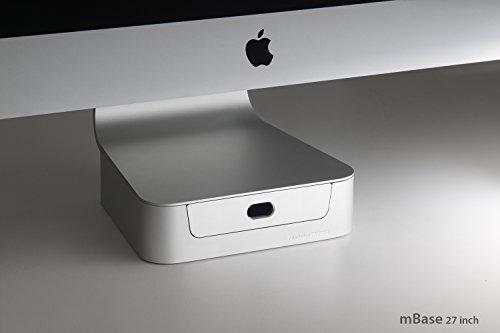 Rain Design 10044 mBase Ständer für iMac bis 68,5 cm (27 Zoll)