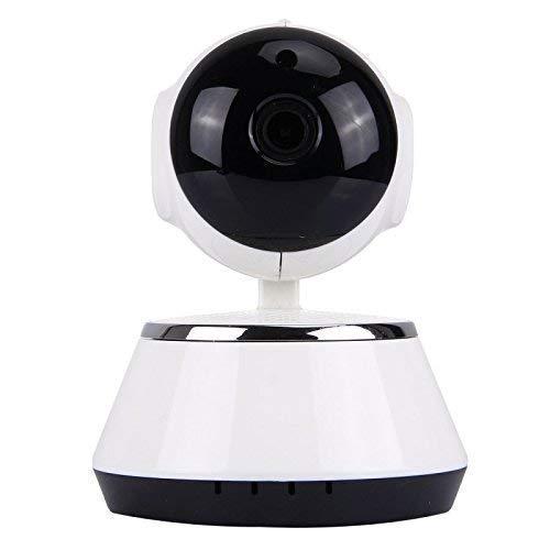 Sanbee Camaras de Seguridad WiFi IP HD - Cámara de Vigilancia 360° Domo Monitor V380 1280x720 con Visión Nocturna y Audio Bidireccional, para la Seguridad del Hogar,Bebé y Mascota