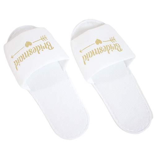 CHENGSE Zapatillas de Boda, Deslizadores Desechables del Hotel del Partido del Pijama...