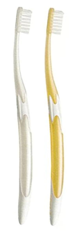 細分化する彼失効ジーシー GC ルシェロ W-10 歯ブラシ 6本 ( パールホワイト3本?パールゴールド3本 )