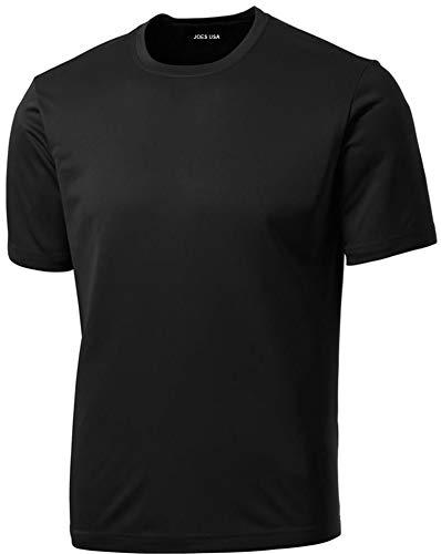 Joe's USA Joe de EE. UU.–Los Hombres De Tall dri-Equip Athletic de Deporte Camiseta de Entrenamiento para Camisas en 23Colores
