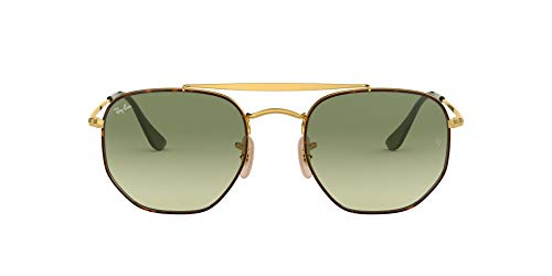 Ray-Ban 0RB3648 Gafas de sol, Havana, 53 Unisex