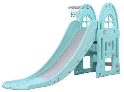 Los juguetes de swing y jardín son muy adecuados para niños y niñas jardín, parques infantiles interiores,Blue