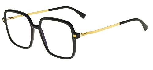 Mykita Brillen Gafas de Vista NIBA C BLACK GLOSSY GOLD 17/17/0 Damen