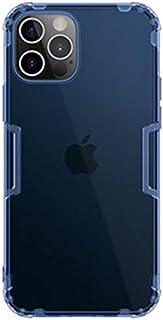 جراب خلفي شفاف نيلكن سيليكون ضد الصدمات لهاتف ايفون 12 برو ماكس - ازرق