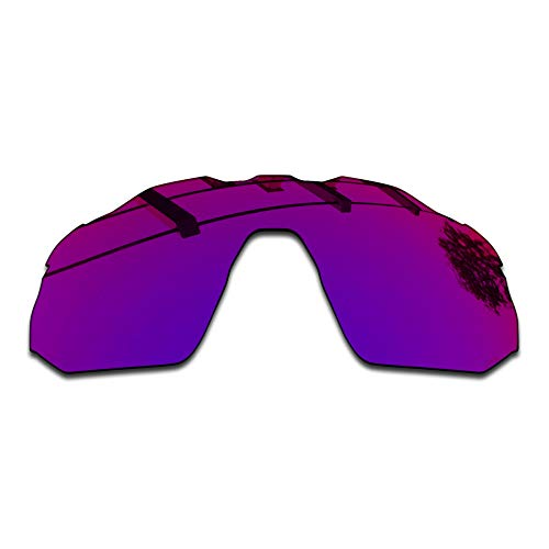 SEEABLE Premium Mirror Replacement Lenses for Oakley Radar EV Advancer OO9442 Sunglasses - Midnight Orchid