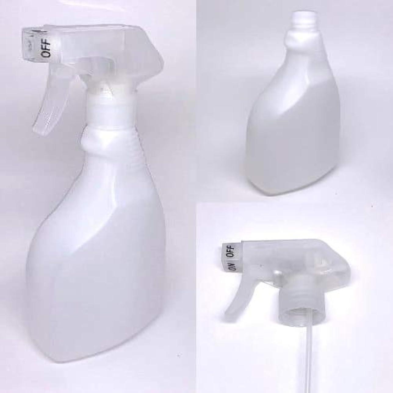 神聖家畜衝動スプレーボトル 500ml/アルコール製剤、消毒用アルコール等の詰替えに (ナチュラルホワイト)【ボトル?容器】【いまじん】