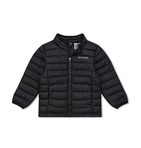 Columbia Boys Powder Lite Boys Jacket, Black, Medium