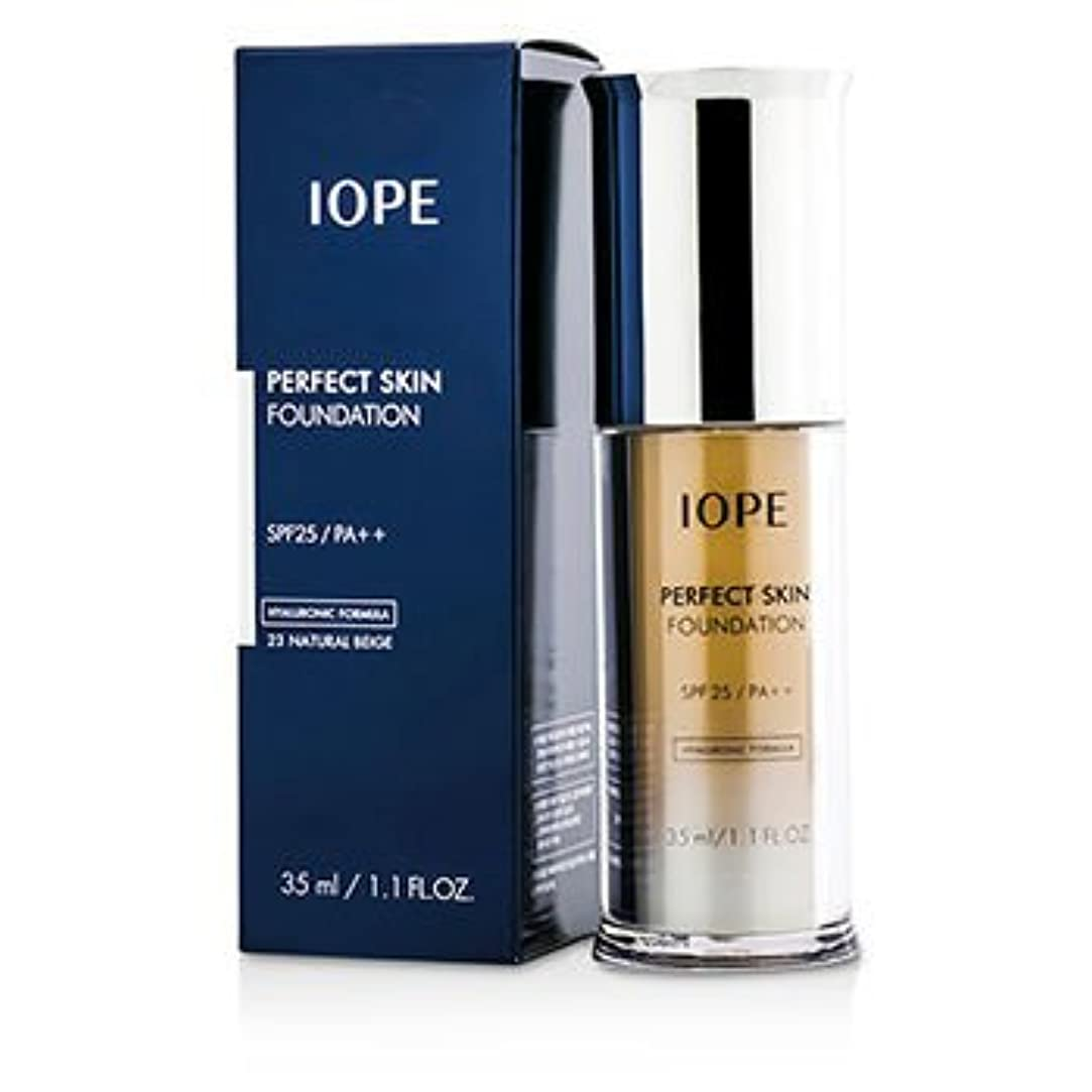 排泄物憲法エアコン[IOPE] Perfect Skin Foundation SPF25 - # 23 Natural Beige 35ml/1.1oz