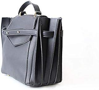 Lenz Satchels Bag For Women, Black, aM19-B049