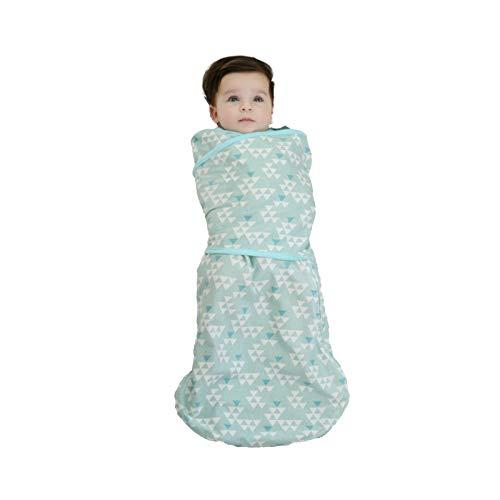 Soapow Impreso bebé saco de dormir cuello redondo manta usable accesorios bebé bolsa de dormir para bebé