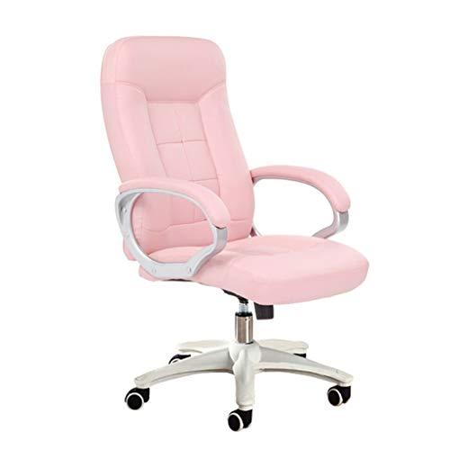 Chaise de Bureau Accueil Chaise D'ordinateur Chaise Rose Chaise De Dortoir Étudiant Chaise Fille Chaise Esports Chair Chaise De Jeu Chaise Pivotante Chaise Boss Chaise De Bureau