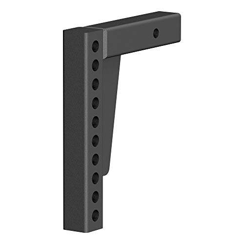 CURT 17123 Replacement Weight Distribution Hitch Shank, 2-Inch Receiver, 7-Inch Drop, 10-1/2-Inch Rise