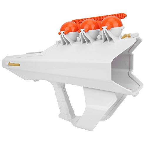 Pistola lanzadora de Bolas de Nieve, Fabricante de Bolas de Nieve 2 en 1, Interesante Hacer Bolas de Nieve al Aire Libre para niños lanzando Bolas de Nieve para Adultos((White))