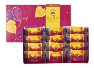 沖縄 島果のしずく 紅芋フィナンシェ 12個入×4箱 エーデルワイス沖縄 沖縄産紅芋のほっくりと濃厚な甘みを閉じ込めました