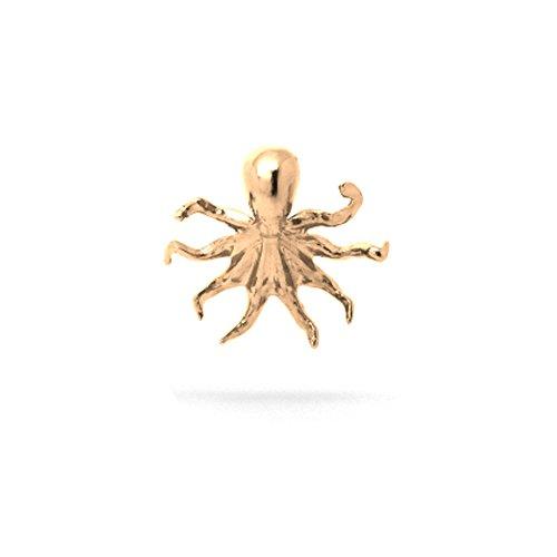 Ossidabile Bronze Pendant Jewelry Ocean Diving Scuba Theme Necklace Charm (Octopus (Copper))
