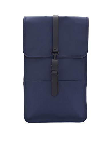 RAINS Backpack Zainetto, Blu, 29.0x45.0x10.0 cm (W x H x L) Unisex-Adulto