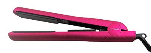 Absolute Heat Intelligent Professional Series Flat Iron, Brushed Metallic, Pink