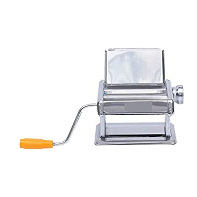WSSW Noodle Machine Spaghetti Machine Multifunctional Small All-Steel Noodle Rolling Machine Noodle Machine Noodle Pressing Machine Convenience Household Hand Crank