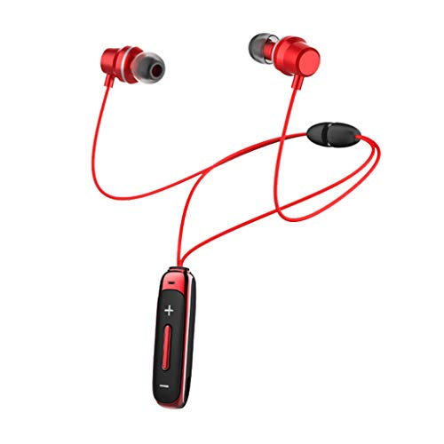 Great Deal! Bluetooth Headset, Sports Headphones Smart Magnetic Waterproof and Antiperspirant Stereo...