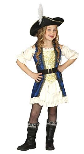 Fiestas Guirca Enfant Costume de Pirate Privateer
