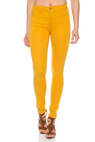 Crazy Age Jegging Basic Classic - Pantalones de cadera para mujer (5 bolsillos)