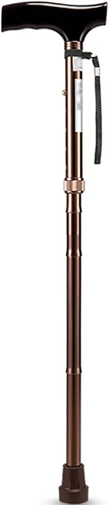 YHRJ Walking Canes Hand Cane Free shipping anywhere in the nation Portable Crutches Some reservation Folding H