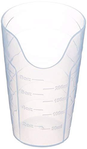 Patterson Medical Sammons Preston Nosy Cup Neutraler Trinkglas für stabile und feste Trinkposition, Funktionsdurchlässiger Trinkbecher für medizinische Patienten, 8 Ounces