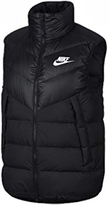 [ナイキ] Nike ウィンドランナーフィルダウンベスト 010: ブラック/ブラック/ブラック/ホワイト