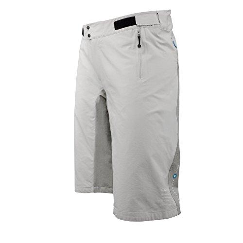 POC Resistance Herren MTB Hose Mid Shorts S Grau (Amine Grey)