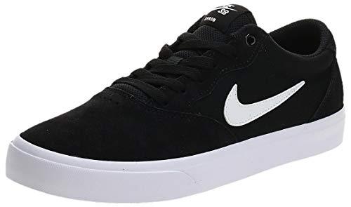 Nike SB Chron Solarsoft Men's Skateboarding Shoes - CD6278 (13 M US, Black/White)